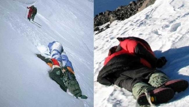 Dramatyczne historie, które skrywają zamarznięte ciała na Mount Everest