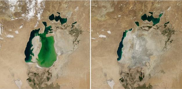 Postępujące zmiany klimatu są niepokojące. Wystarczy spojrzeć zaledwie kilka lat wstecz