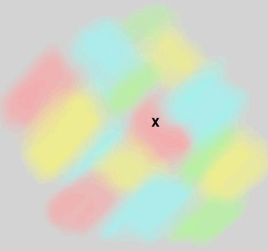 Ten obrazek znika, gdy wpatrujesz się w niego dłuższą chwilę. Iluzja ma ciekawe wyjaśnienie