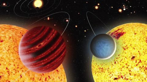 Odkryto dwie bliźniacze planety. Zaskakuje to, że znajdują się w różnych układach planetarnych