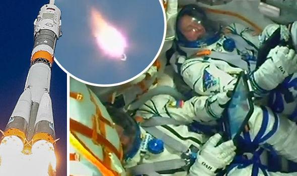 Rosyjska agencja kosmiczna opublikowała wstrząsające nagranie z nieudanego startu statku Sojuz