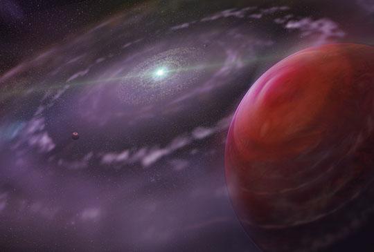 Udało się wykryć wodę w atmosferze planety oddalonej o 179 lat świetlnych od Ziemi