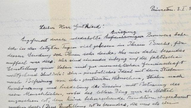 List o Bogu napisany przez Einsteina po raz kolejny został sprzedany osiągając zawrotną cenę