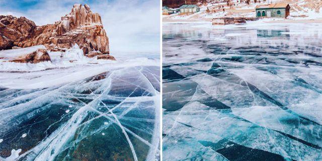 Bajkał to najbardziej niesamowite jezioro na naszej planecie. Zimą zachwyci każdego