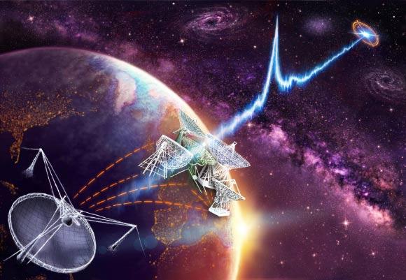 Odebrano kolejne sygnały radiowe pochodzące z odległej galaktyki. Jeden z nich się powtarza