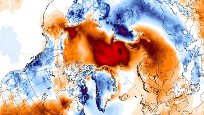 Rekordowe temperatury i fale upałów nawiedzają Arktykę. Eksperci przecierają oczy ze zdumienia
