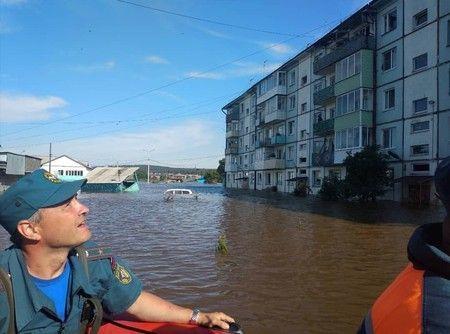Powodziowa apokalipsa w Rosji. Pod wodą znalazło się już 50 miejscowości