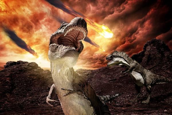 wyginięcie dinozaurów