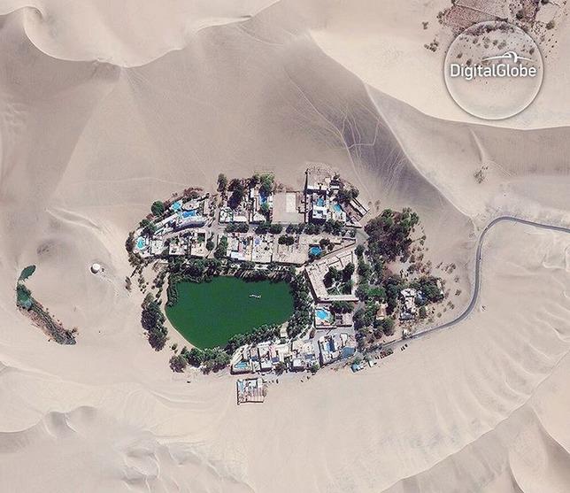 Świat z góry, czyli niesamowite zdjęcia satelitarne ukazujące naszą planetę z innej perspektywy