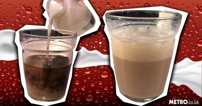 coca-cola i mleko