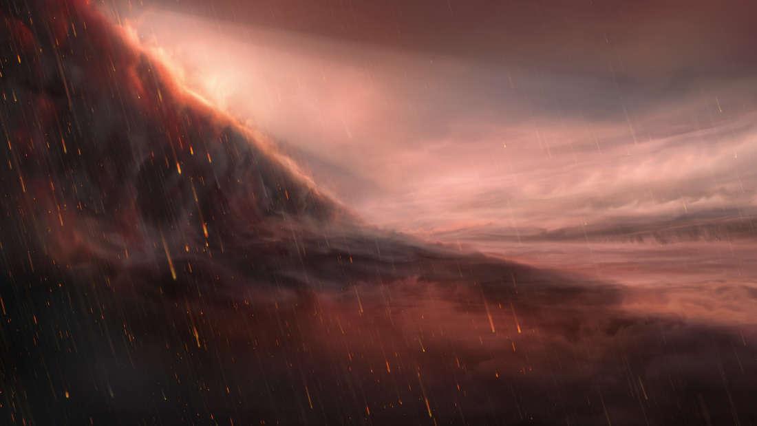 Astronomowie zaobserwowali planetę pozasłoneczną, na której zamiast deszczu pada żelazo
