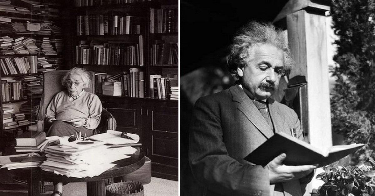 5 ulubionych książek Alberta Einsteina. Miały ogromny wpływ na jego prace i światopogląd
