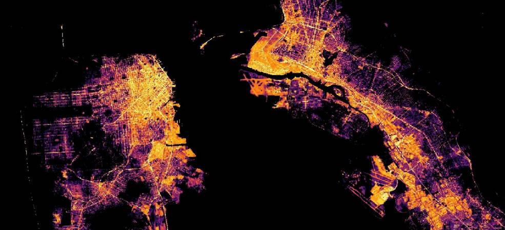 Interaktywna mapa stworzona przez trzy agencje kosmiczne pokazuje, jak koronawirus zmienił świat