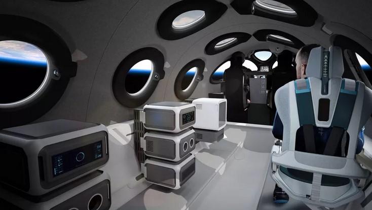Virgin Galactic zaprezentowało luksusowe wnętrze statku do turystycznych lotów w kosmos