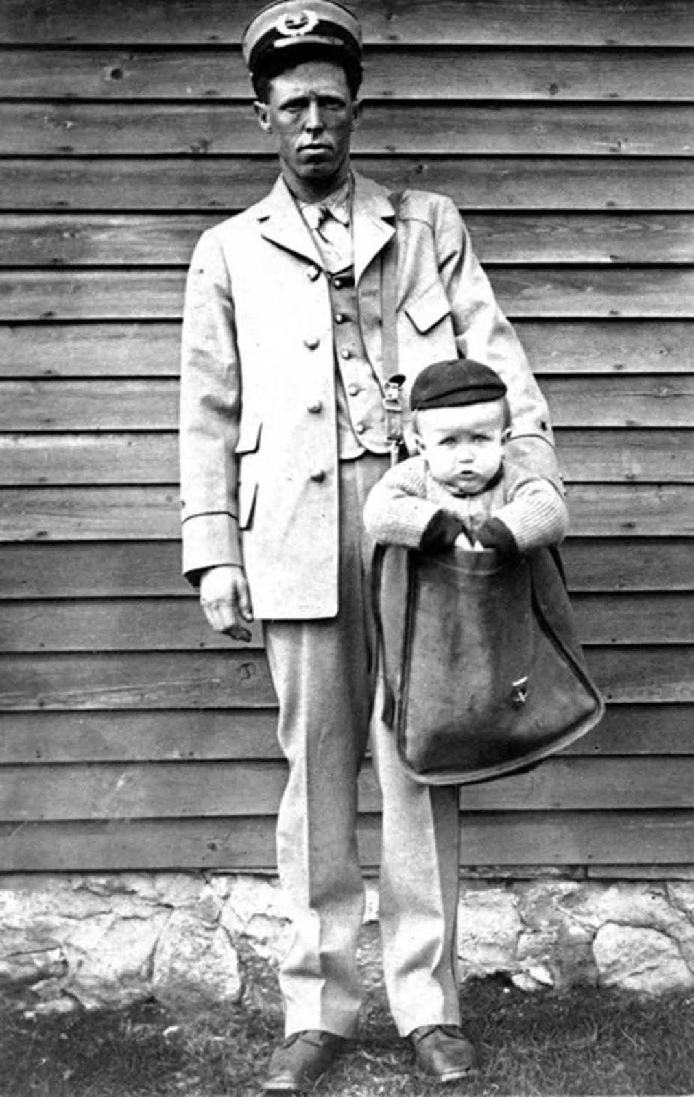 Wysyłanie dzieci pocztą. Krótka i osobliwa historia rodziców, którzy wysyłali bobasy kurierem
