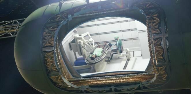 Latające krople krwi czy unoszące się jelita — jak będą wyglądać operacja w kosmosie?