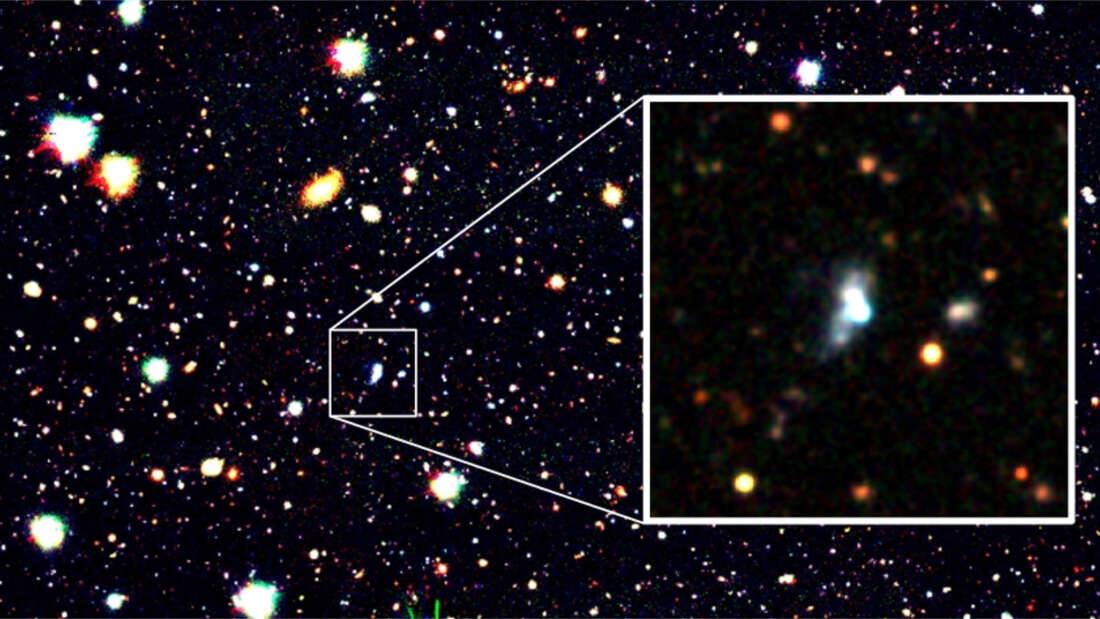 Astronomowie znaleźli galaktykę z najniższym poziomem tlenu, jaki kiedykolwiek wykryto