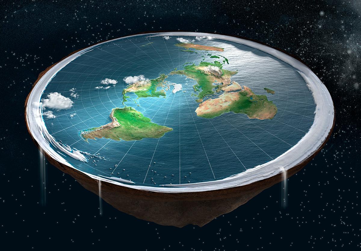 Płaskoziemcy w końcu wyjaśnili, dlaczego nikt jeszcze nie spadł z krawędzi naszej planety