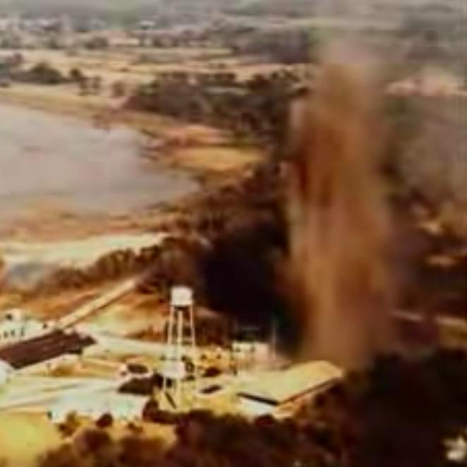 Fatalna pomyłka pewnego inżyniera doprowadziła do katastrofy i zniknięcia całego jeziora