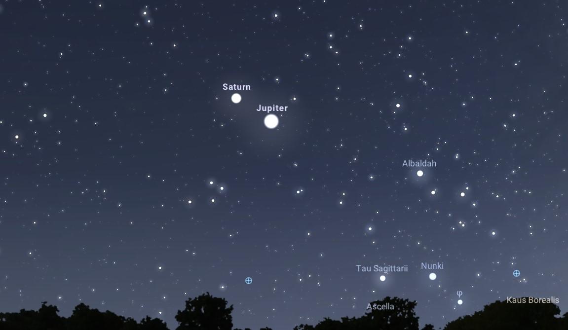 Wielka koniunkcja Jowisza i Saturna. Planety nie znalazły się tak blisko siebie od prawie 800 lat