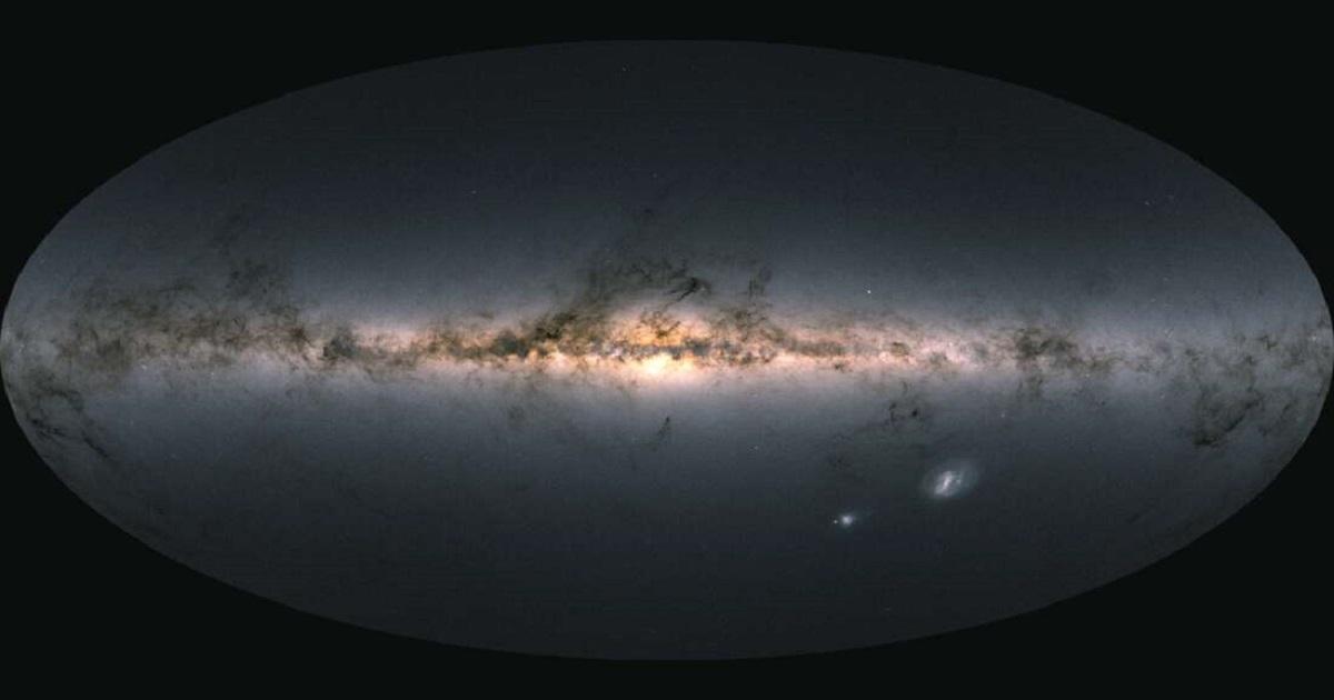 Astronomowie opublikowali najbardziej szczegółową mapę ukazującą detale Drogi Mlecznej