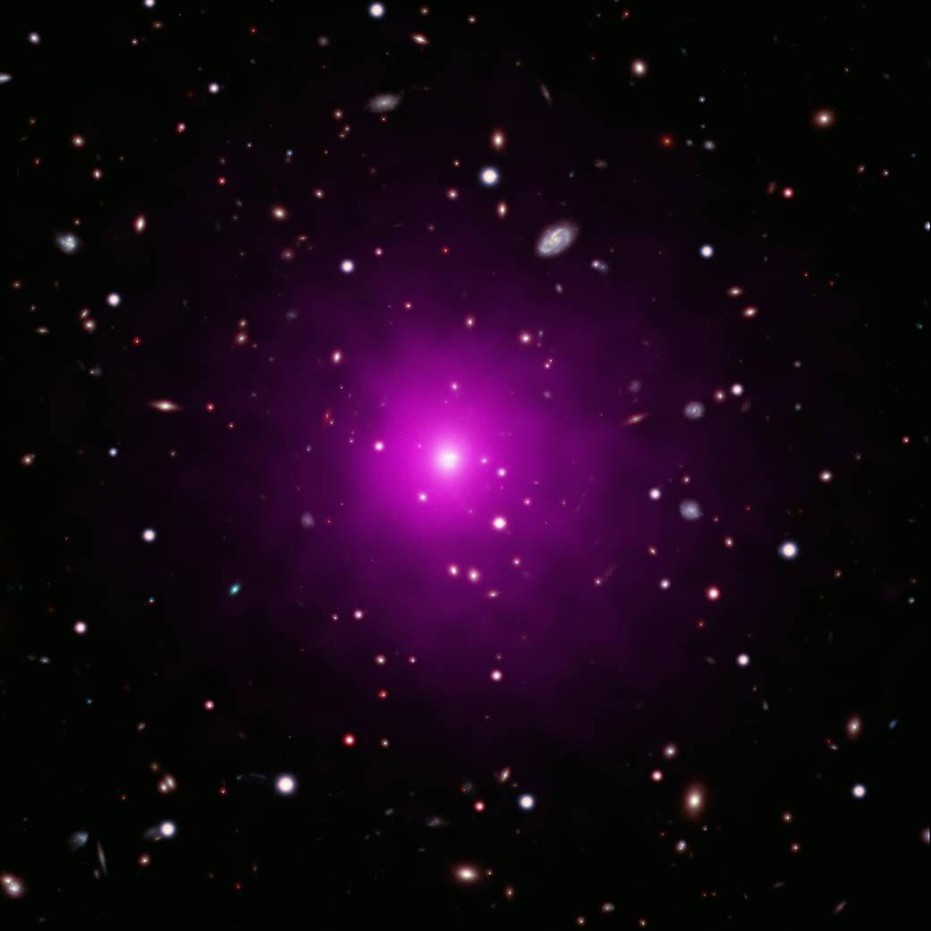 W gromadzie galaktyk Abell brakuje supermasywnej czarnej dziury, zgodnie z oświadczeniem NASA