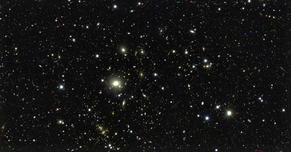 Na podstawie 226 milionów galaktyk astronomowie stworzyli największą mapę ich rozmieszczenia