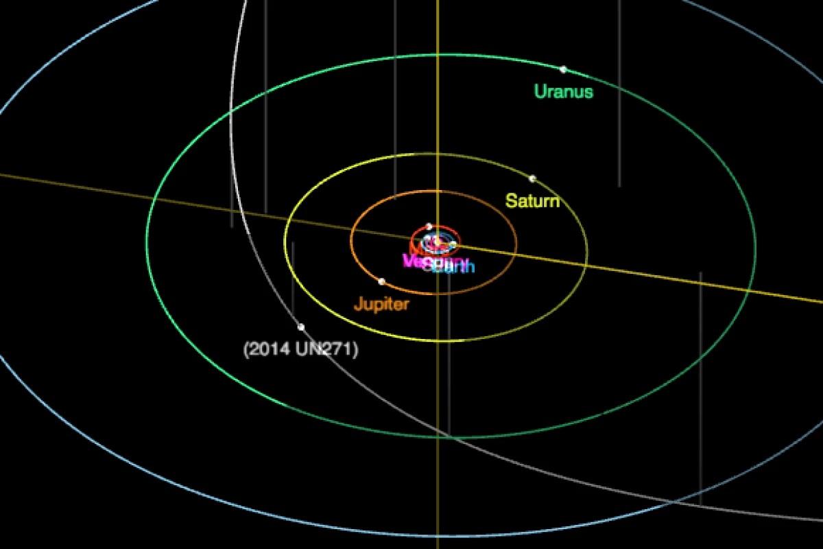 Gigantyczna kometa zmierza w naszym kierunku. Obiekt ma bardzo ekscentryczną orbitę