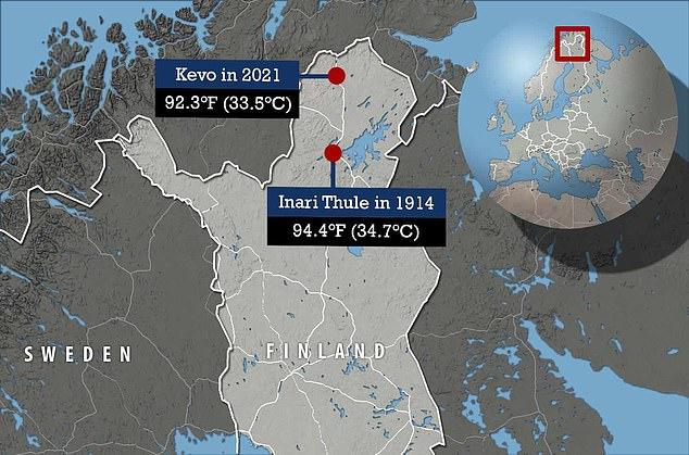 Laponia gotuje się w 33-stopniowym upale. To najwyższa zarejestrowana temperatura w regionie