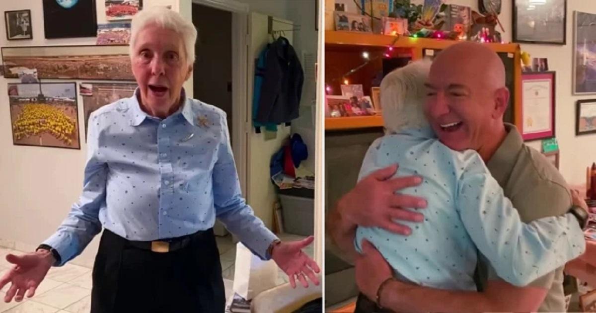 82-latka dołączy do Jeffa Bezosa podczas pierwszego pasażerskiego lotu kosmicznego Blue Origin
