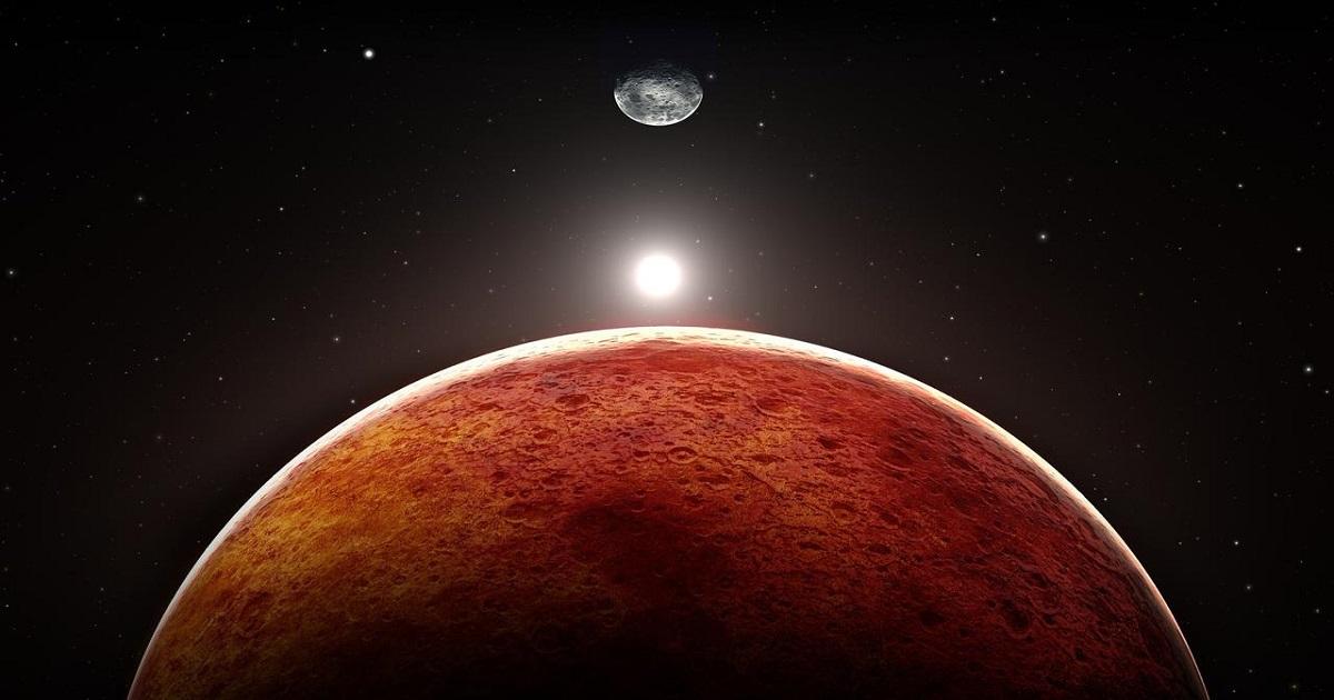 Zespół naukowców proponuje mieszanie krwi astronautów z pyłem, by wybudować domy na Marsie