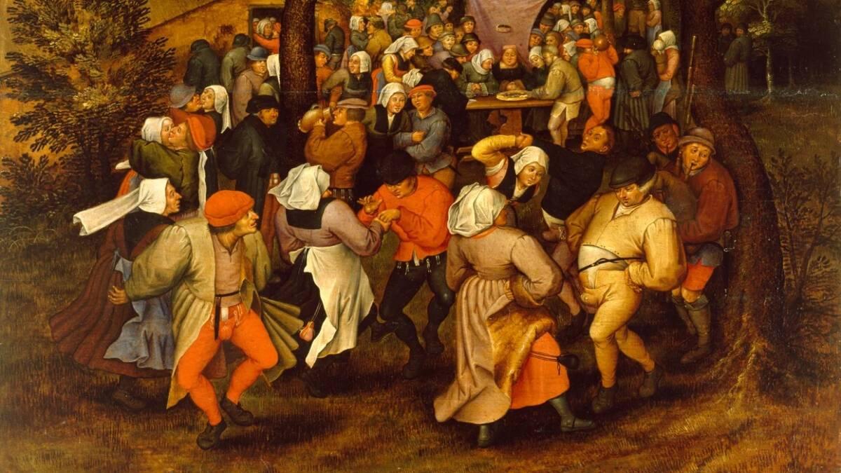 Choreomania, czyli taneczna plaga, która opętała średniowieczne społeczeństwo