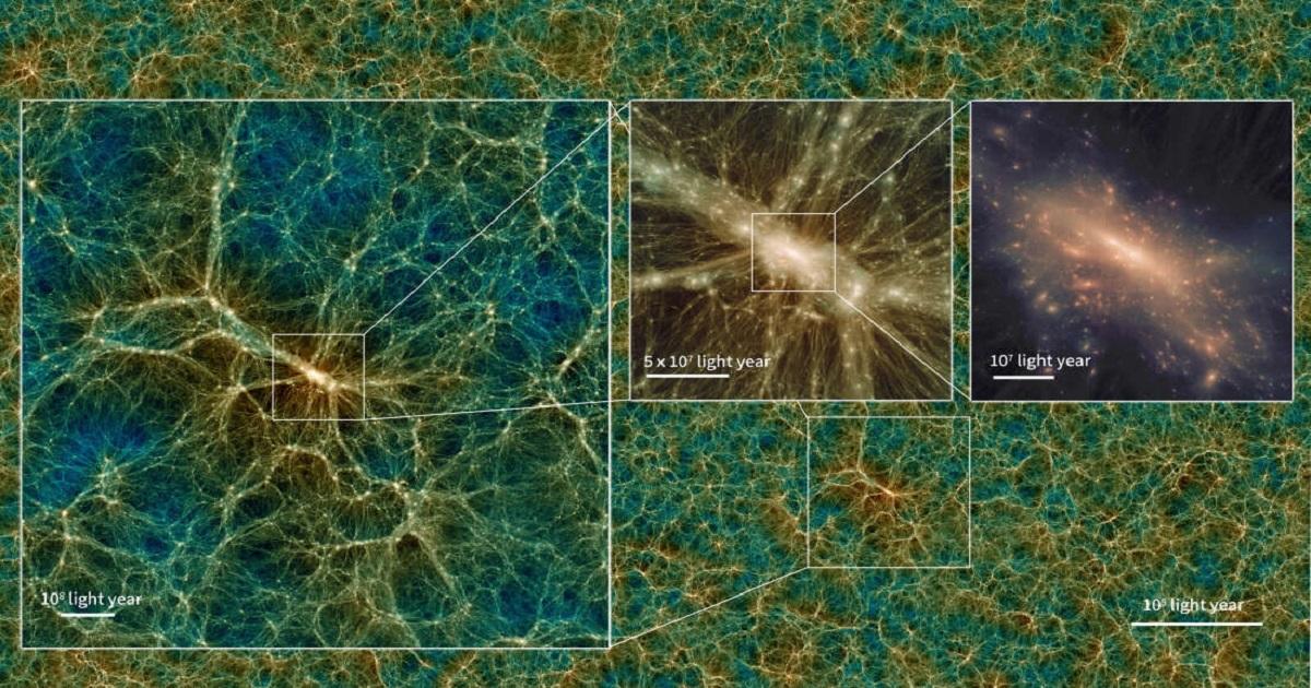 Astronomowie stworzyli największą i najbardziej realistyczną symulację wszechświata