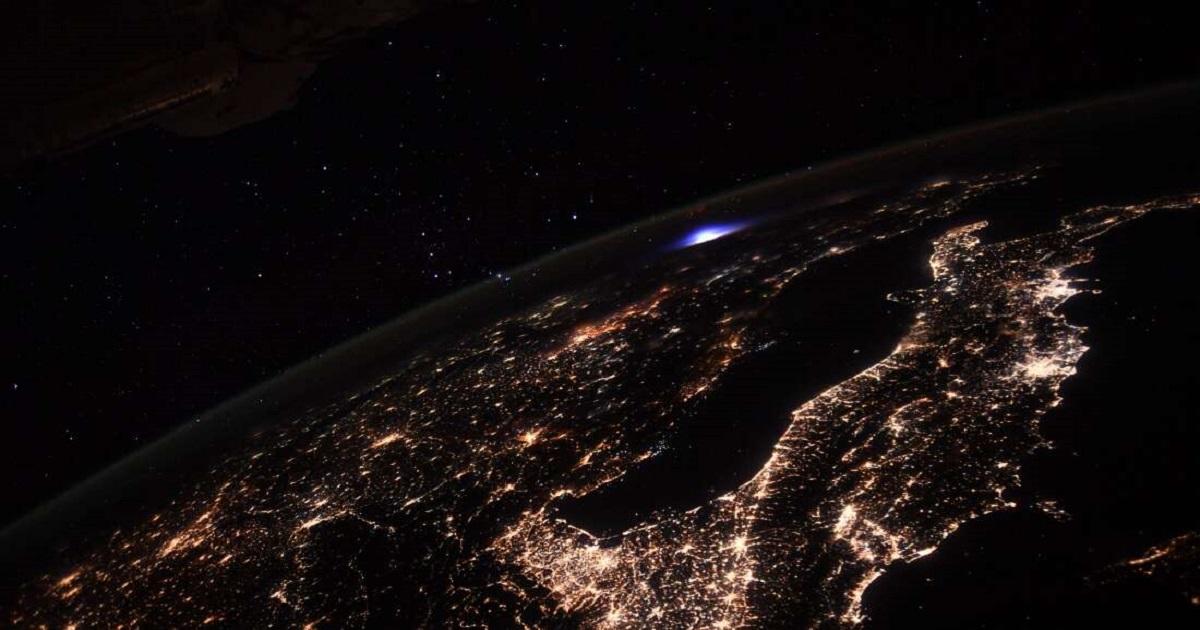 Astronauta uchwycił niebywale rzadkie zjawisko z pokładu Międzynarodowej Stacji Kosmicznej