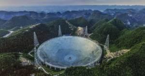 Monstrualny chiński teleskop odebrał kolejne szybkie impulsy radiowe